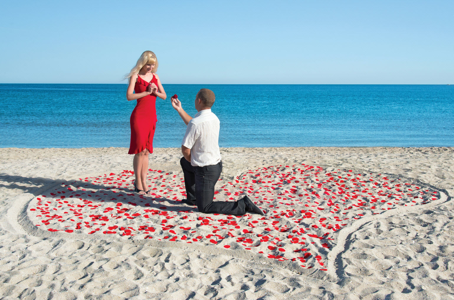 Как сделать романтичное предложение руки 577