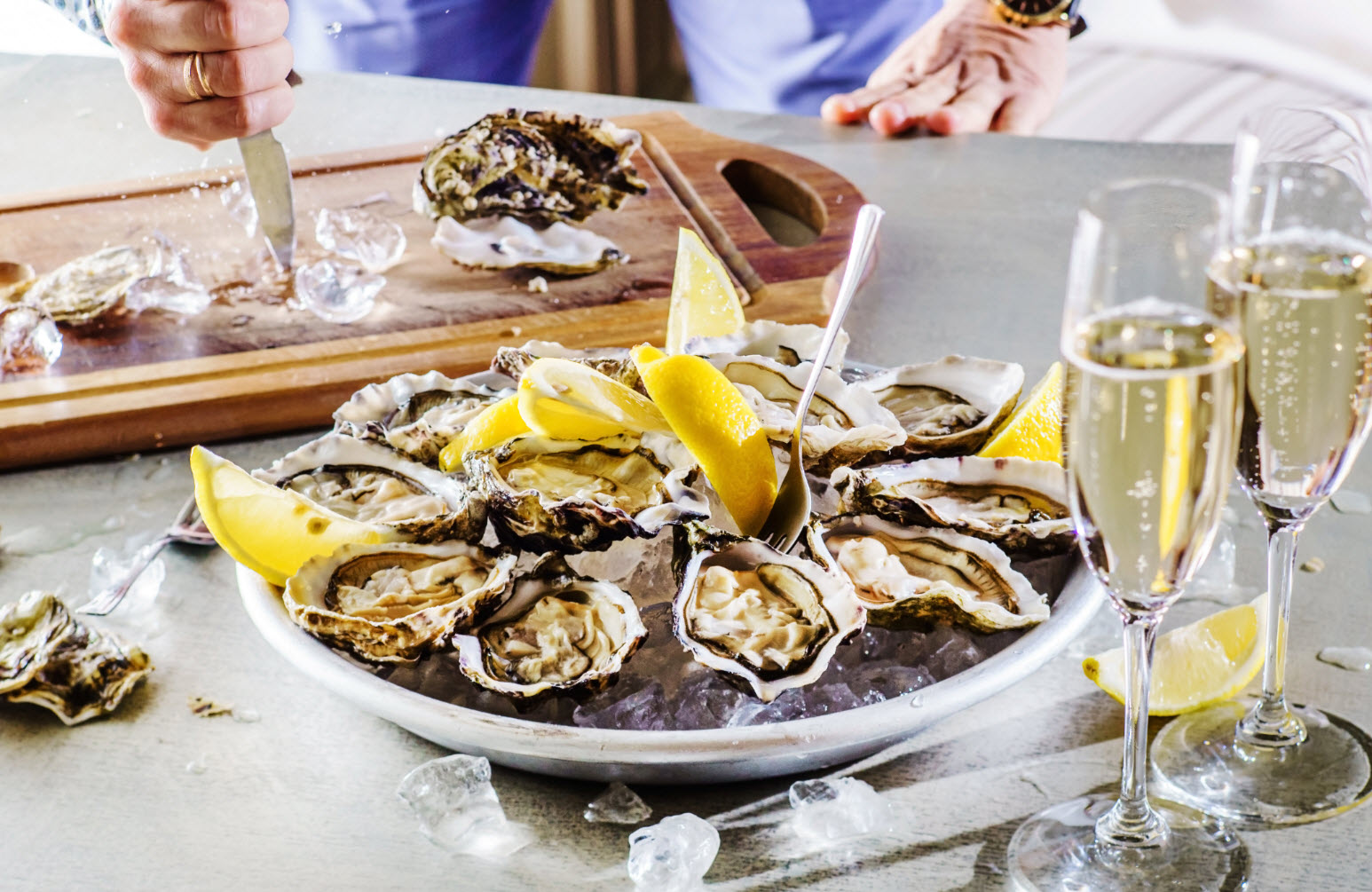 Устрицы и Шампанское: Нормандия, Бретань, Париж!